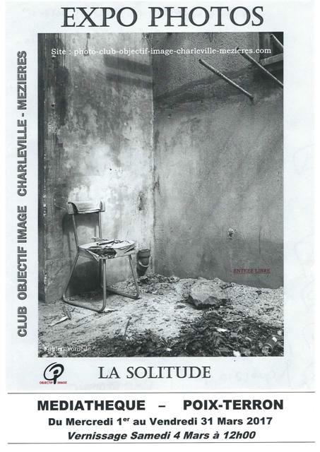 affiche solitude Poix Terron 2017