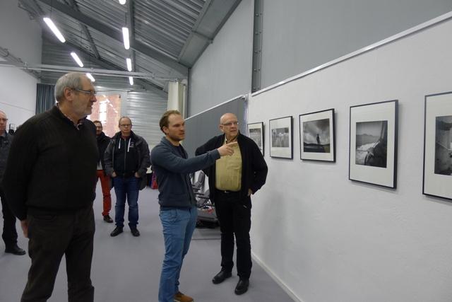 Julien M. Le Maire et JM expo Poix terron