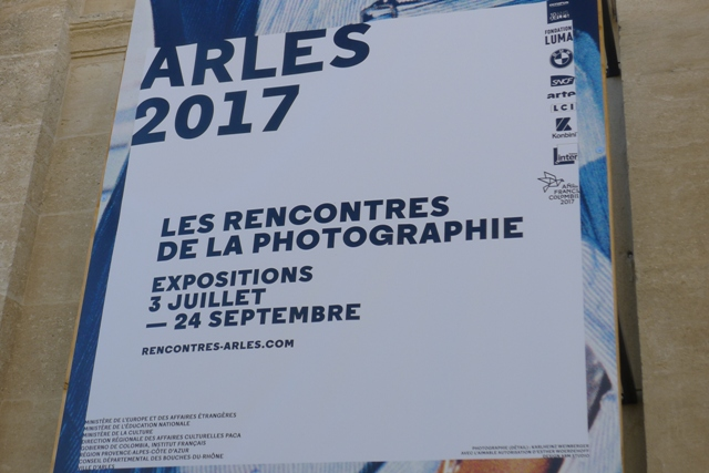affiche stage Arles 2017