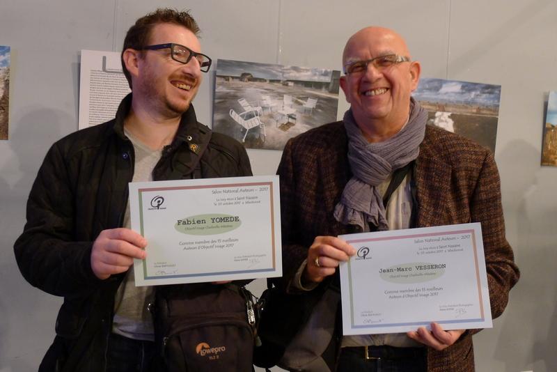 Fabien Y JM Vesseron diplôme série St Nazaire